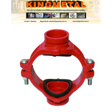 Ductile Iron Red Color Mechanical Cross Threaded Buy Online.