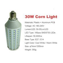 10w 5730 smd led corn light E27/E14/B22 AC220V or AC90-260V warm cool white led lamp