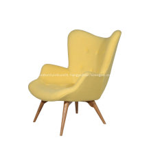 Grant Featherston Cashmere Chair and Ottoman