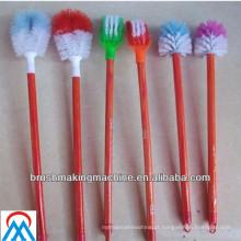 Meixin escova de vaso sanitário colorida que faz a máquina