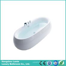 Popular Modern Acrylic Small Fresstanding Bathtub (LT-9S)