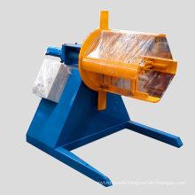 5ton 8 ton 10ton 30 ton automatic metal sheets aluminum steel coil hydraulic electric decoiler for 10 ton
