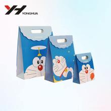 2018 Großhandel Mode Doraemon Cartoon recycelbaren Karton Papier Süßigkeiten Tasche