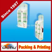 Shampoo, Gel de Ducha Artículos de tocador Papel de cartón corrugado Pantalla de paleta (6213)