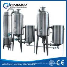 Sjn höherer effizienter Fabrik Preis Edelstahl Obst Apfelsaft Maschine Milch Verdampfer Milchwirtschaft