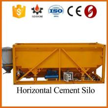 Mini silo de cemento móvil horizontal