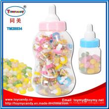 Juguete plástico de la botella de alimentación con Jellybean