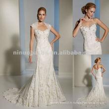 Vérin de corset fonctionnel et sangles amovibles robe de mariée