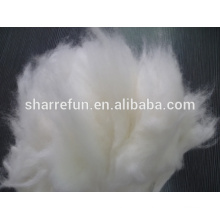 Pure Dehaired Angora Rabbit Fiber White 15.0MIC/32-34MM