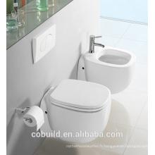 Haute Qualité Salle De Bains Toilette Bol WC Placard en céramique Mur Suspendu toilette