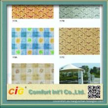 Plástico antideslizante Mat con diseños de la impresión
