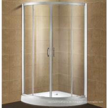 Wettbewerbsfähige einfache ausgeglichene Glasduscheinschließung mit doppelseitigem einfachem sauberem