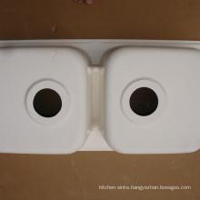 Best discount cheap chemical resistant round corner kitchen sink