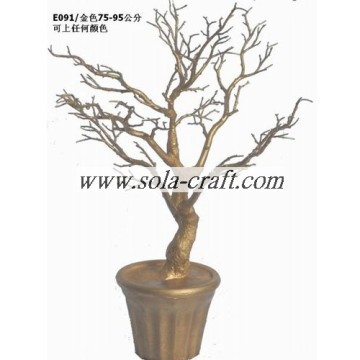 Artificial White Wedding Tree For Decoration In Pots For Indoor 95cm