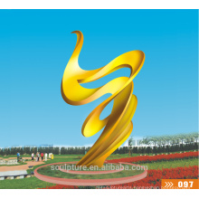 Modern Large Stainless Steel 304 Sculpture for garden decoration