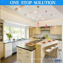 L Shape MDF Lacquer Kitchen Cabinets (POLE3946)