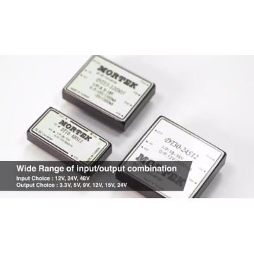 ODM Mean Well Output Step Down DCDC-Wandler