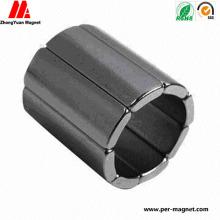 Custom Rare Earth Concave Shape Permanent Motor Magnet