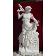 Stone Sculpture Carved Statue Marble Carving for Garden Decoration (SY-X1139)