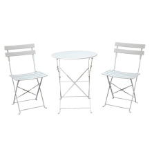 Indoor Dining Tables and Chairs Set Bistro Furniture Garden Set 2 Years Steel Ctns Modern Wholesale Universal Outdoor 1set / 2