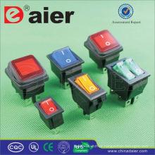 Interruptor de balancim iluminado Daier KCD5