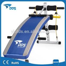 Ejercicio abdominales fitness sit up Banco plegable