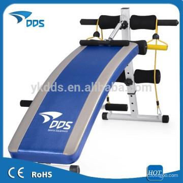 Bauch-Übung Fitness aufhorchen faltbare Sitzbank
