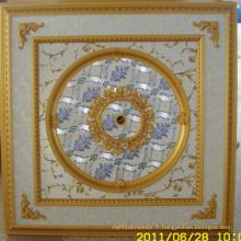 Plafonnier artistique décoratif de la Bourgogne et de la courge dorée Dl-1114-13