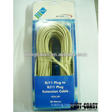 Home telephone ADSL RJ11 to RJ11 Cable