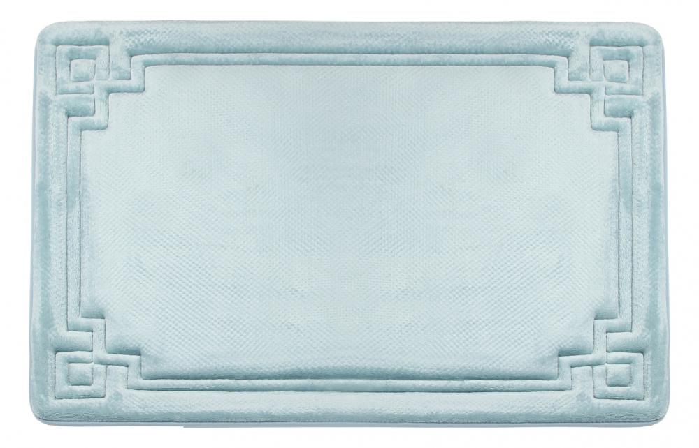 Memory Foam Bath Mat Blue