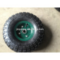 10 inches 4.10/350-4 trolley parts , barrow equipment ,inflatable rubber wheel , pneumatic wheel can use for lawn wheelbarrow