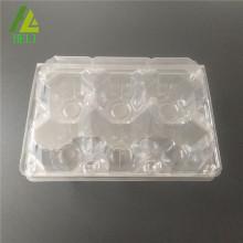 plastique transparent 6 pack cartons d'oeufs