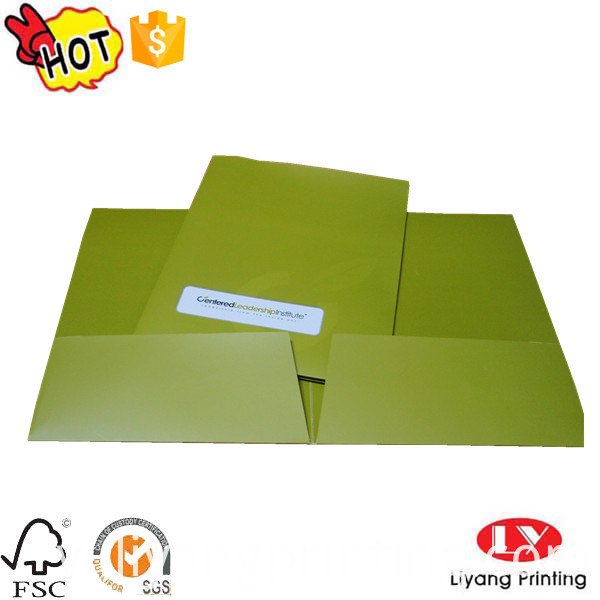 file folder with pocket