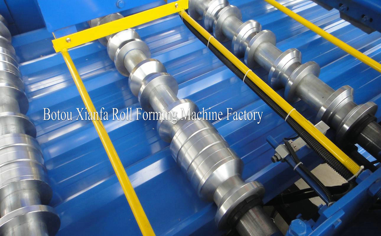 IBR roll forming machine equipment