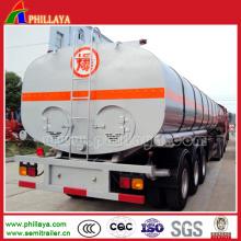 3 Axle Truck Fuel Oil Tanker for Semi Trailer