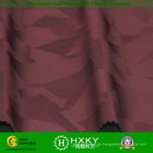 Tela tejida poliéster del telar jacquar con la tela hecha punto para la ropa