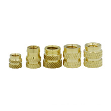 round long brass connector cap coupling ring nut