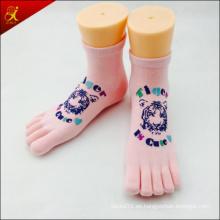 Custom 5 calcetines de dedos de los pies con Logo