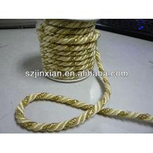 5мм полиэстер плетеный витой шнур