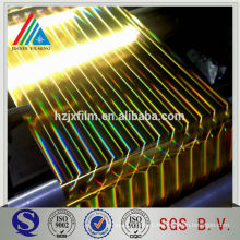 Gold coated High reflectivity metallized pet film