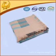 China Factory Classic Check Style Atacado Woven 100% acrílico Pashmina Shawls
