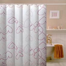 100% Polyester Badezimmer Stoff Duschvorhang