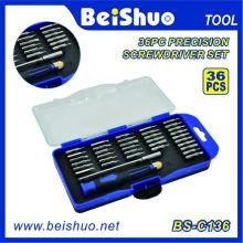 Conjunto de chave de fenda de ferramenta de precisão magnética profissional