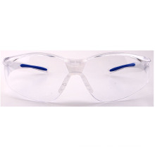 2019 Hot Selling Safety Sunglass with Blue Rubber