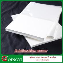 papel da sublimação da tintura do qingyi para a roupa