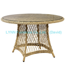 Garden Table Round Wicker Table Wicker Furniture