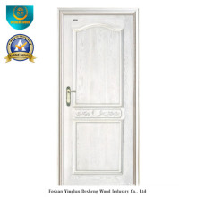 Modern Style Solid Wood Door for Interior (white color)
