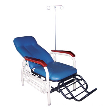Chaise IV inclinable en PVC pour hôpital