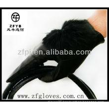 2013 styles ladies leather short glove