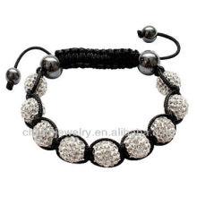 Réglage en gros shamballa Bracelet à perles BRS-0012